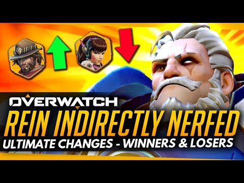 Overwatch |  Reinhardt + Dva Indirectly NERFED - Patch Winners and Losers