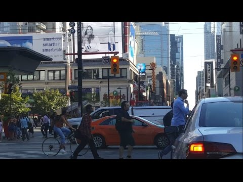 Downtown Toronto To Mississauga In Traffic