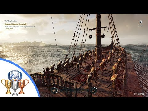 Assassin's Creed Odyssey Naval Combat Gameplay - The Thaletas Way Quest (Exclusive E3 2018 Hands On)
