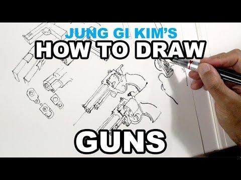 Kim Jung Gi - How To Draw Guns