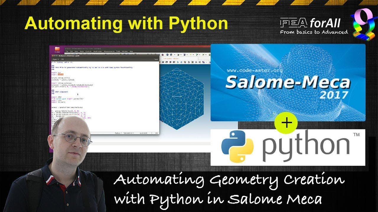 Salome Video Tutorial] Automating Geometry Creation with Python