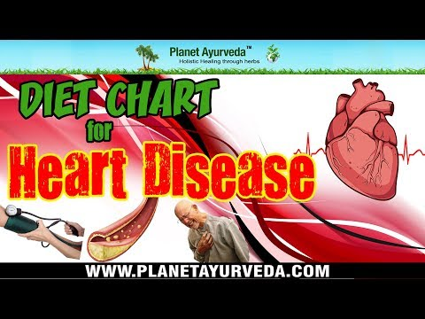 Diet Chart for Heart Disease - Recommend & Avoid Foods