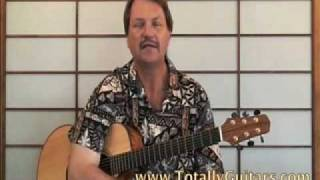Learn to play Mini Lesson Something The Beatles acoustic guitar lesson