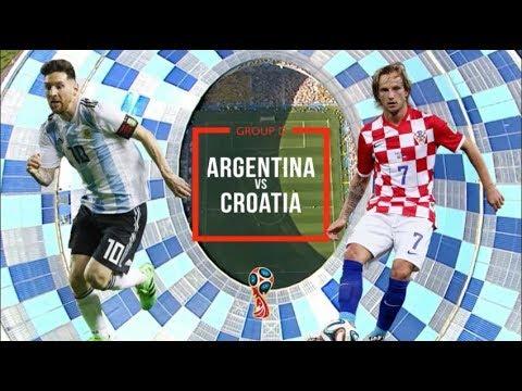 Argentina vs Croatia  21 June 2018  Match P