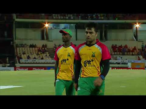 CPL17  Highlights M12: St. Lucia Stars v Guyana Amazon Warriors
