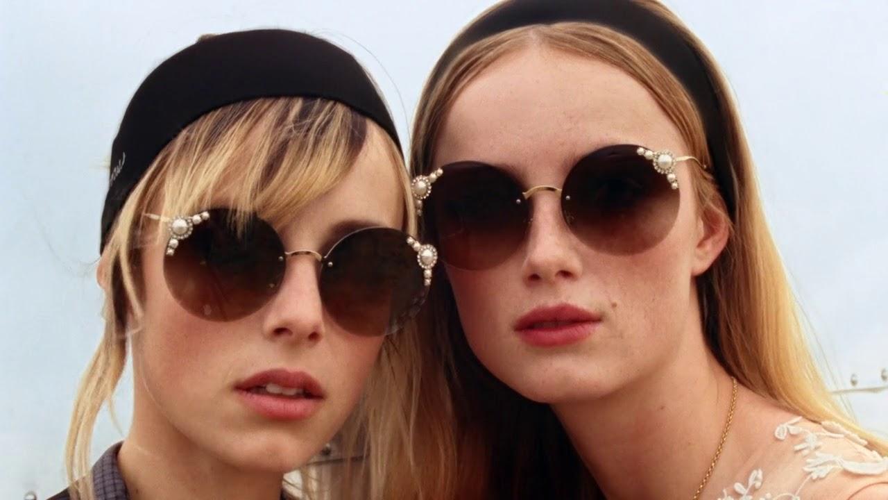 84ce1cfeab Miu Miu Maniere Sunglasses 2018 Film - YouTube