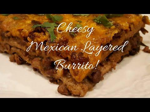 Taco Black Bean Tortilla Casserole || Dining In With Danielle