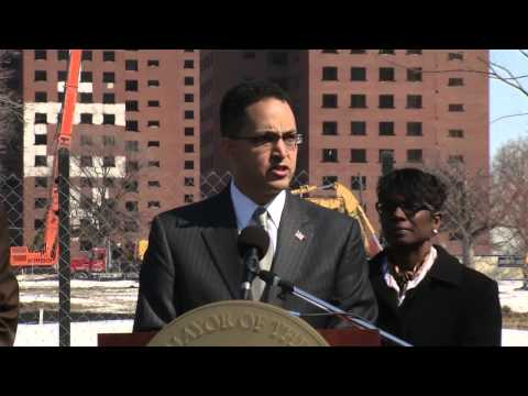 Detroit Brewster Projects Demolition Press Conference