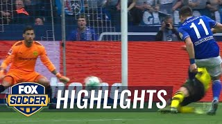 Schalke 04 vs. Borussia Dortmund | 2017-18 Bundesliga Highlights