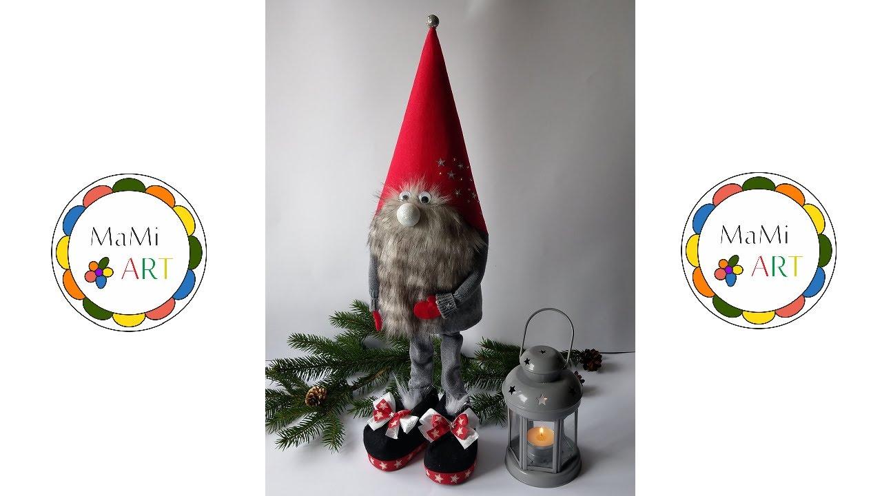 Jak Zrobic Stojacego Skrzata Christmas Ornaments Diy How To Make A Christmas Elf Ideas2020 Youtube