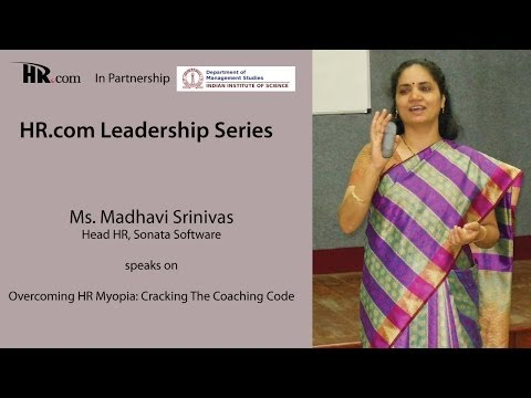 HR.COM Leadership Series Workshop: Overcoming HR Myopia: Cracking The Coaching Code