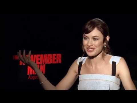 "The November Man: Olga Kurylenko ""Alice Fournier"" Official Movie Interview"