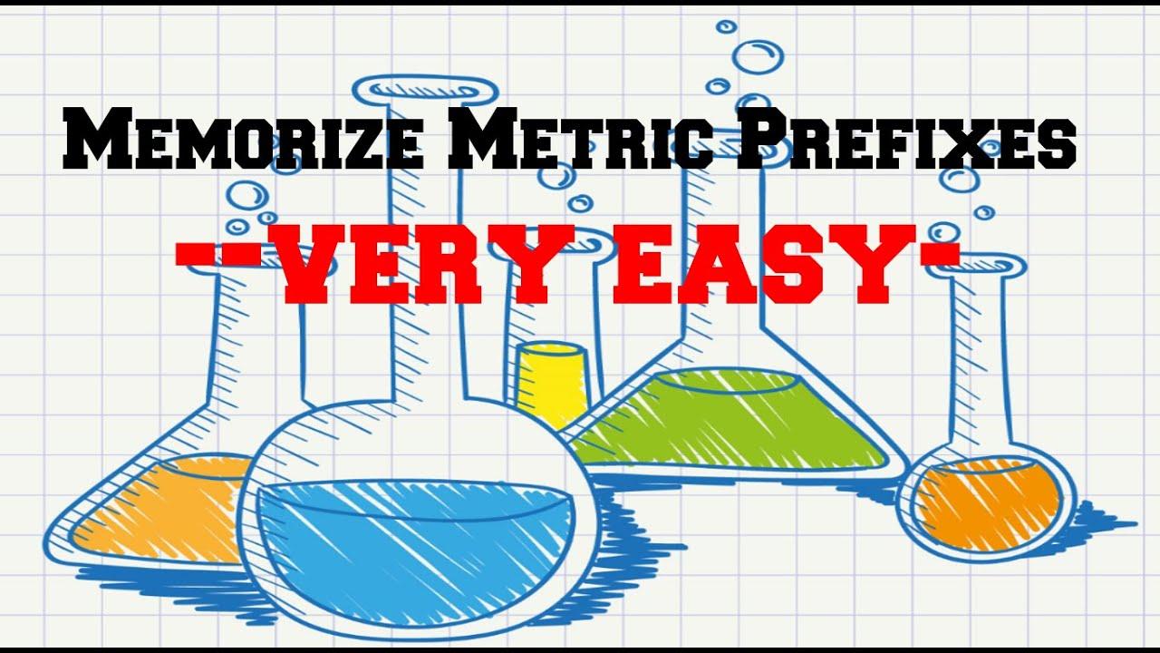 Worksheet Easy Ways To Remember The Metric System easy way to memorize metric prefixes youtube prefixes