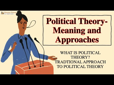 Political Science Optional for UPSC - Political Theory - A.1 - Part 1