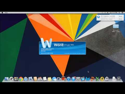 How to Install Microsoft Office On Mac OSX For Free