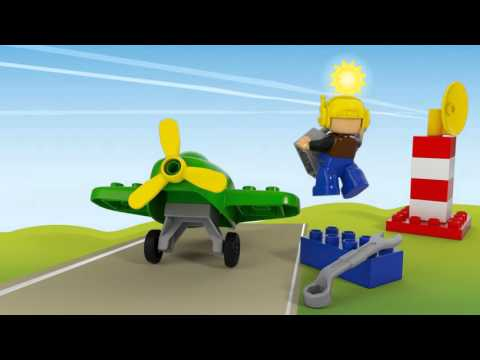 Town Little Plane - LEGO DUPLO - 10808 - Product Animation