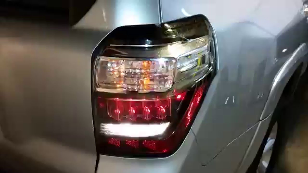 2010 2016 Toyota 4runner Suv Testing Tail Lights After