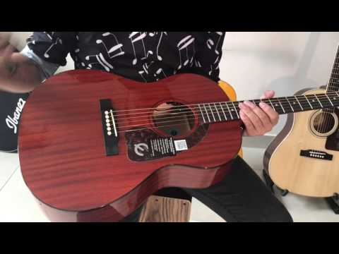 Review guitar Epiphone Caballero FT30 Chính hãng giá 7tr1