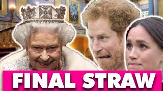 Not Just Remove Titles: The Queen Remains Silence As Planning To Completely Destroy Harry And Meghan