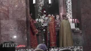 Մատուցվել է Սուրբծննդյան Ճրագալույցի պատարագ