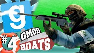 GMod Boats #4 - Concrete Sniper (Garry's Mod)