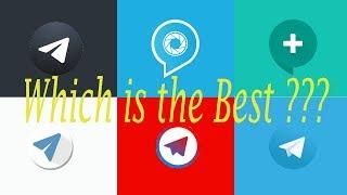 Which is the best Telegram Client ??