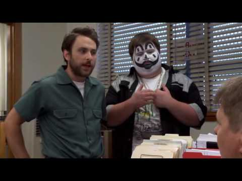 It's Always Sunny in Philadelphia - Charlie is mentoring a juggalo