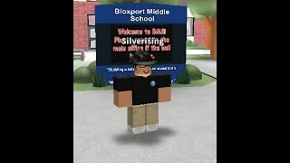 Playing BMS    Bloxport Middle School Roblox