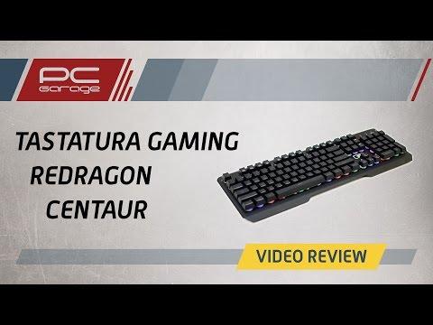 PC Garage - Video Review Tastatura gaming Redragon Centaur
