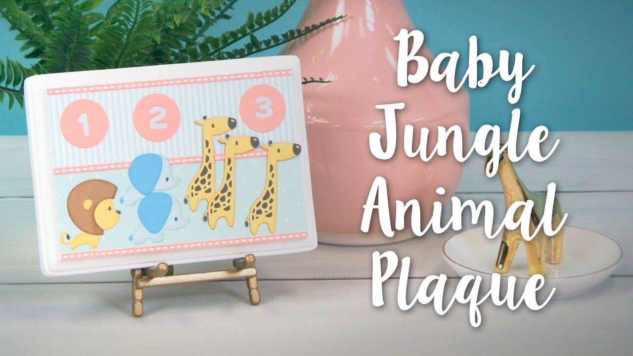 Diy Baby Jungle Animal Home Décor Perfect Nursery