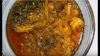 Fish curry quick recipe