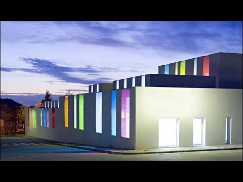 Building Elevation Lighting Design