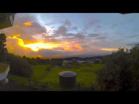 Time Lapse Sunset Kula Hawaii