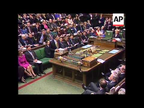 UK: LONDON: CHANCELLOR PRESENTS BUDGET