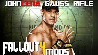 Video Fallout 4 Console Mods ~ John Cena Gauss Rifle (Sound Replacer) download MP3, 3GP, MP4, WEBM, AVI, FLV Juni 2018
