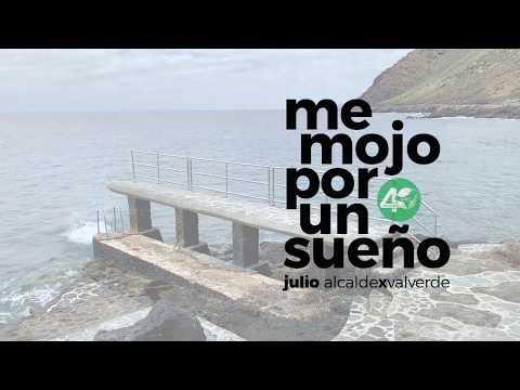 A inesperada reacción dun candidato a alcalde de Canarias nun surrealista vídeo