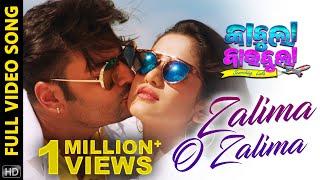 Zalima O Zalima | Full Song | Kabula Barabula Searching Laila | Odia Movie | Anubhav | Elina