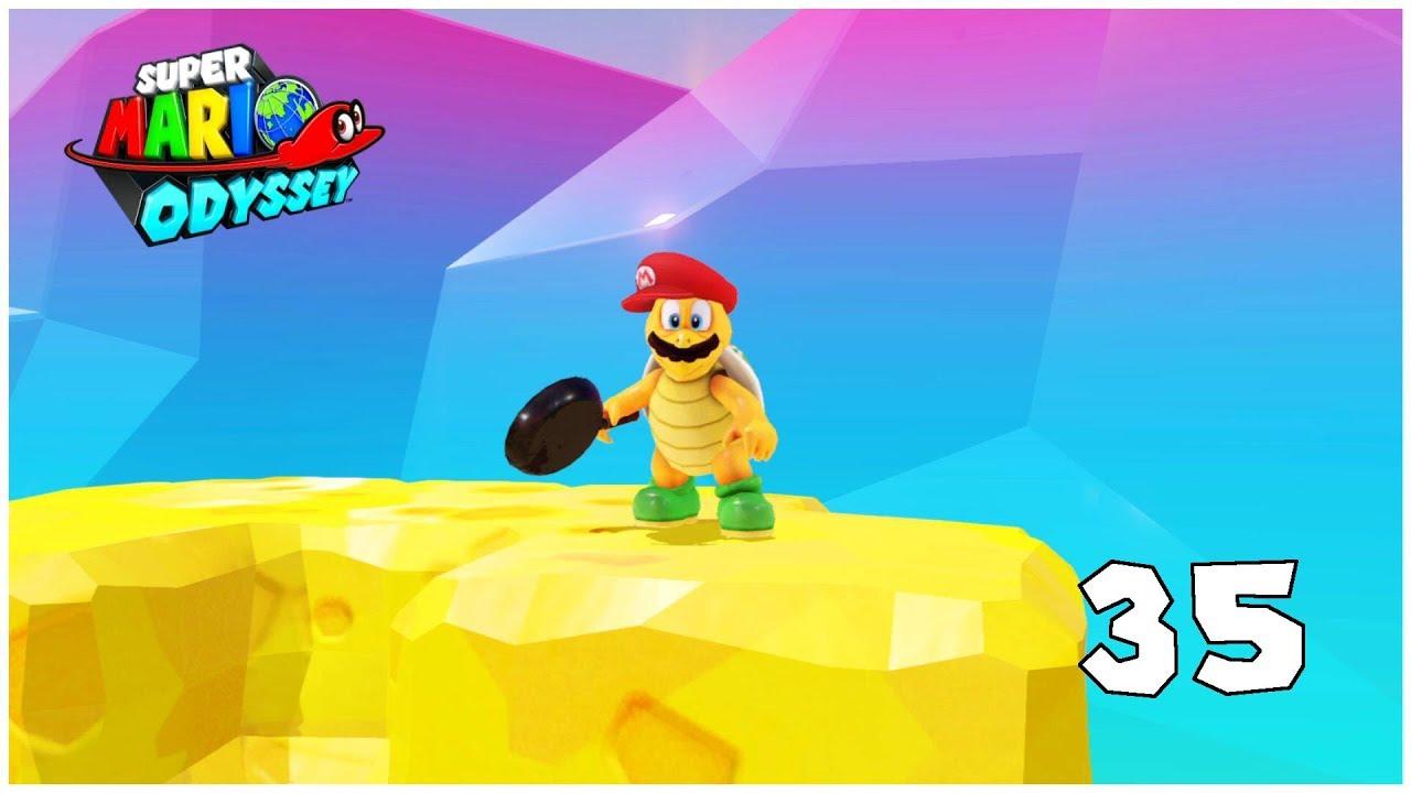 Un Indice Vers Le Pays De La Cuisine Super Mario Odyssey Lp