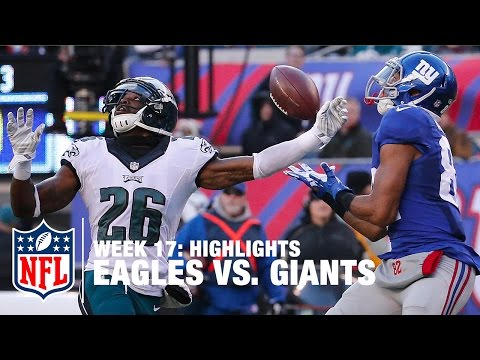 Eagles vs. Giants | Week 17 Highlights | NFL