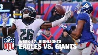 Eagles vs. Giants   Week 17 Highlights   NFL