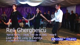 Reli Gherghescu - Hai mandro pitisi, pitisi Colaj HORA LIVE Nunta Liviu si Doinita,