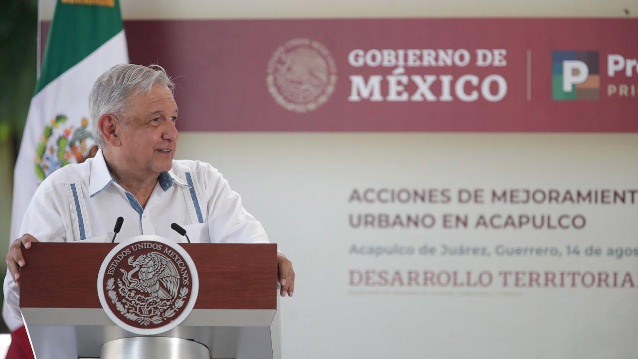 Programa de Mejoramiento Urbano, desde Acapulco, Guerrero