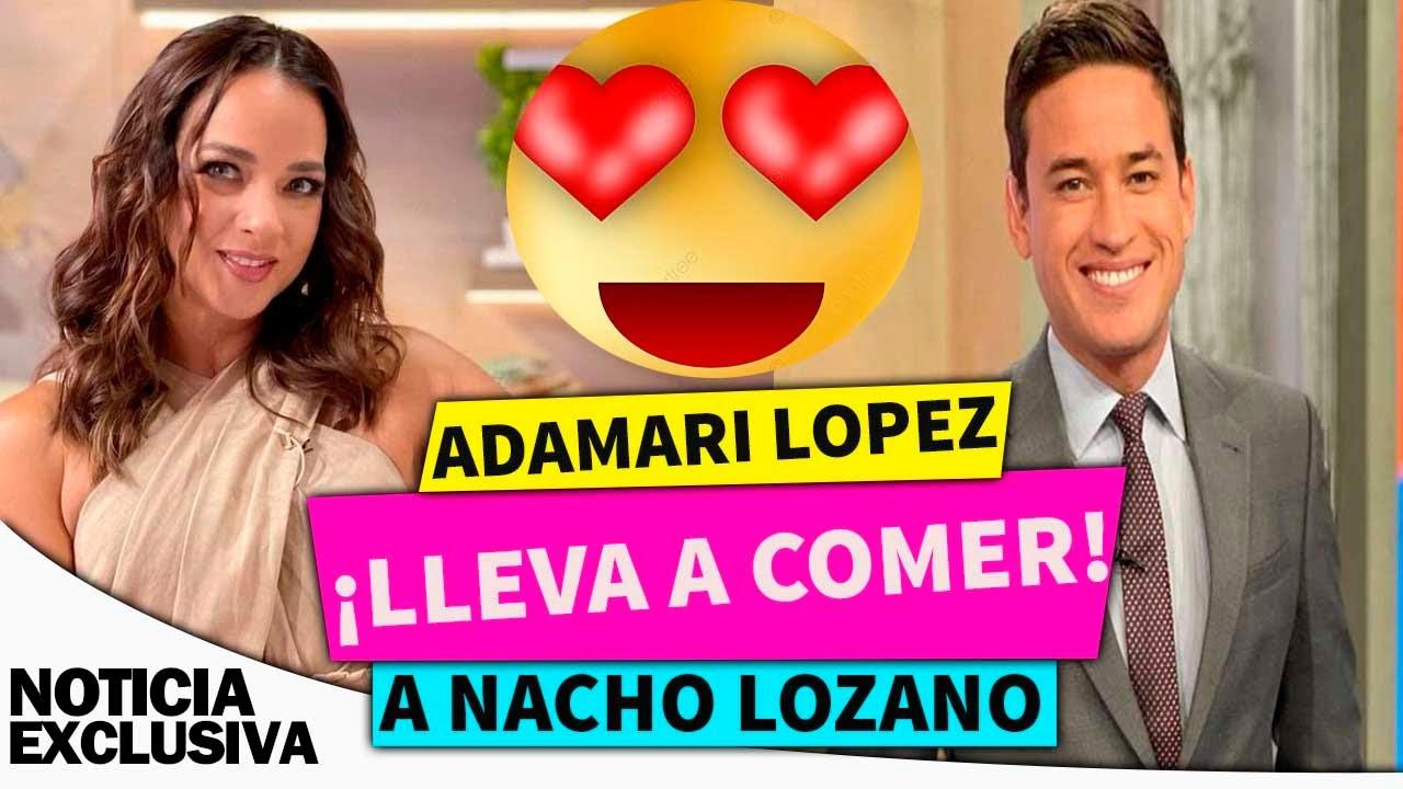 Adamari López se lleva a comer a Nacho Lozano.