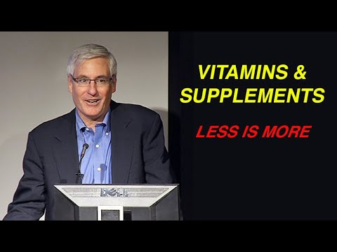 Vitamins And Supplements: Less Is More
