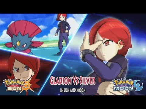 Pokemon Sun And Moon: Trainer Gladion Vs Silver (Pokemon Rival, Battle Of The Edgelord)