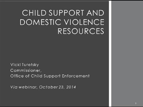 Enhancing Safe Access To Child Support