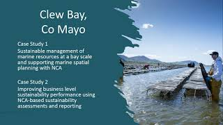 Grainne Devine on BIM's Natural Capital project, Clew Bay, Ireland