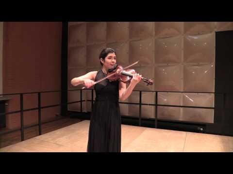 Rimma Benyumova - J.S.Bach Partita No. 3 in E-dur BWV 1006 Movt. I