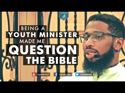 Being a youth minister made me QUESTION the Bible - Rashad Jennings