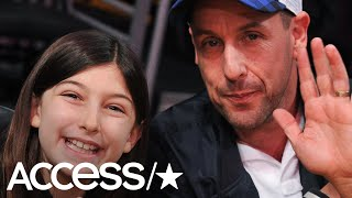 Adam Sandler's 10-Year-Old Daughter Steals Show with Incredible Voice